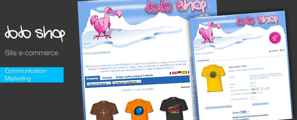 serious team 360 pour Dodoshop : création de site e-commerce