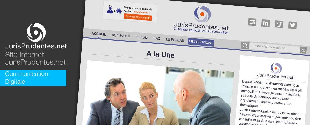 Création du site internet Jurisprudentes