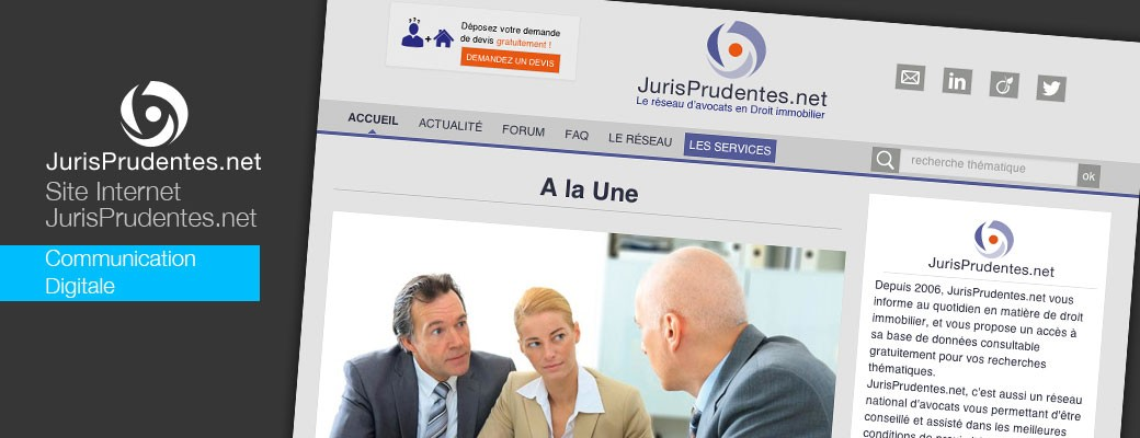 Jurisprudentes.net : communication digitale