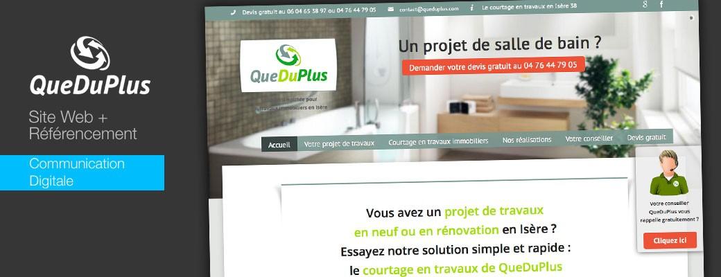 QueDuplus Site web