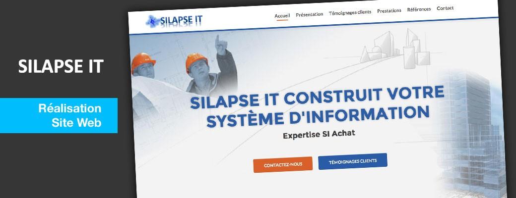 Silapse IT : réalisation du site web