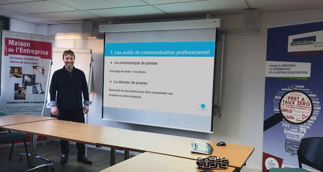 Atelier Convaincre un blogueur ou un journaliste de parler de vous : Maison des Entreprises Saint-Quentin-En-Yvelines