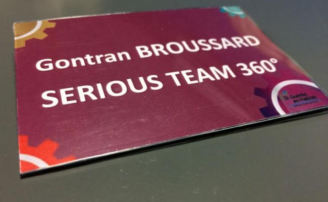 Serious Team a participé aux Prix SQY Entreprises 2015, organisés dans les Yvelines (78)