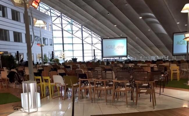 Serious Team 360° a participé au SOAT Agile Day le 25 Avril 2017 au CNIT de La Défense (92) – épisode 1