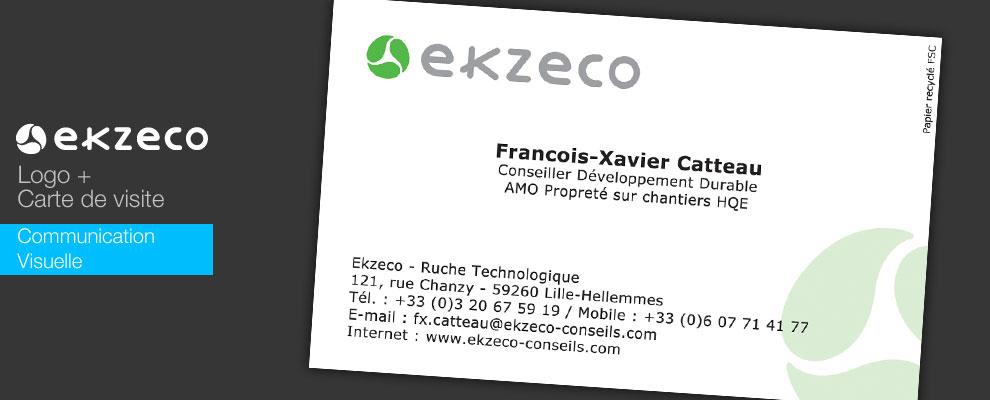 Création de la communication de Ekzeco