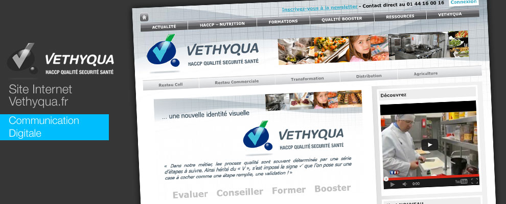 Création du site internet Vethyqua