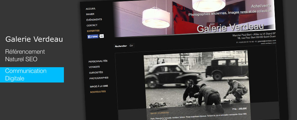 serious team 360 Galerie Verdeau Paris