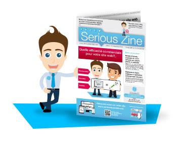 Besoin d'y voir plus clair pour votre communication ?Dès la rentrée, recevez notre nouveau journal Serious Zine ! Inscrivez-vous gratuitement pour le recevoir chez vous > Cliquez-ici