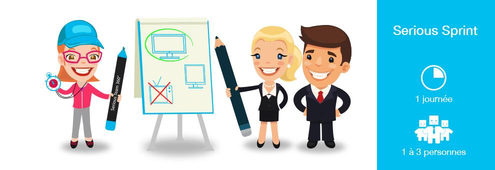 Formation coaching Serious Sprint : prototyper votre nouveau produit agence-communication-yvelines-serious-team-360-formation-serious-sprint