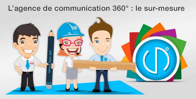 Que fait une agence de communication 360?