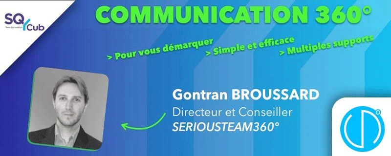 Atelier au SQY Cub - La communication 360°